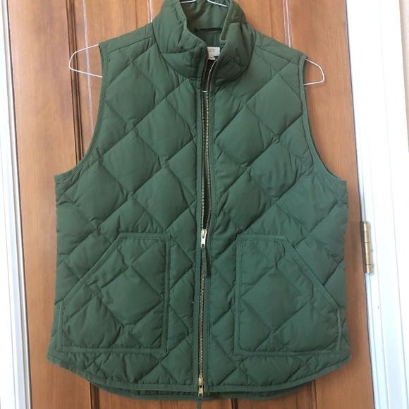 J Crew Women's Quilted Vest  -  Size M